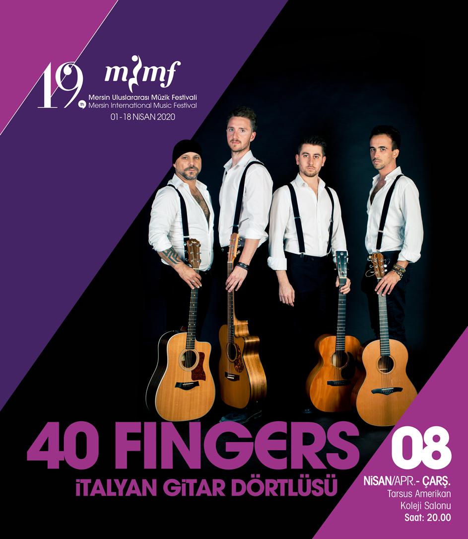 40 Fingers - İtalyan Gitar Dörtlüsü