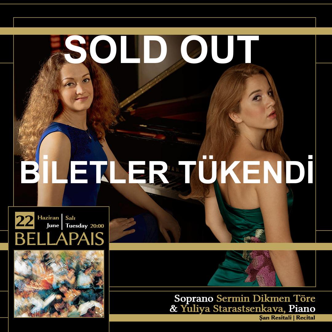 Soprano Sermin Dikmen Töre & Yuliya Starastsenkava, Piano