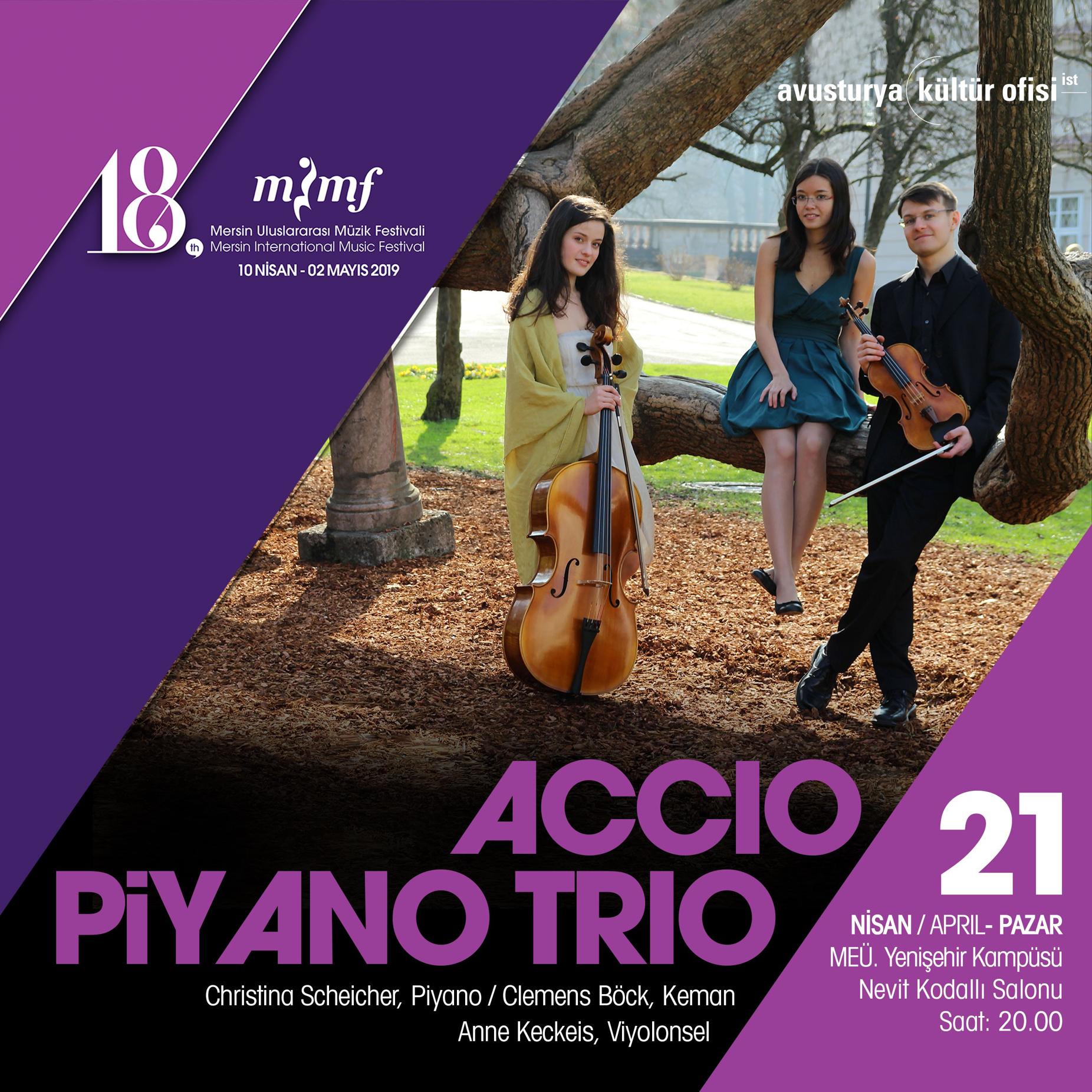 Accio Piyano Trio Konseri