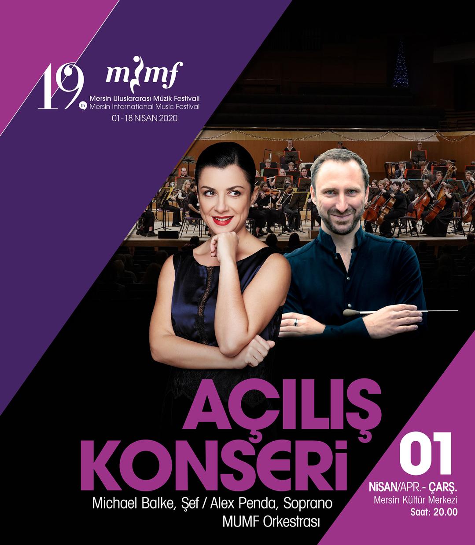 Mersin Uluslararası Müzik Festivali Açılış Konseri
