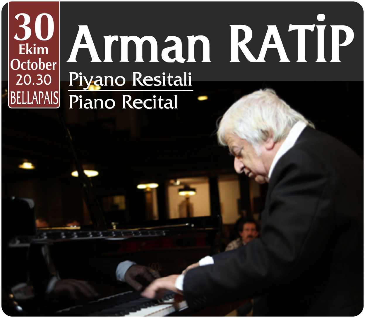 Arman RATİP - Piyano Resitali / Piano Recital