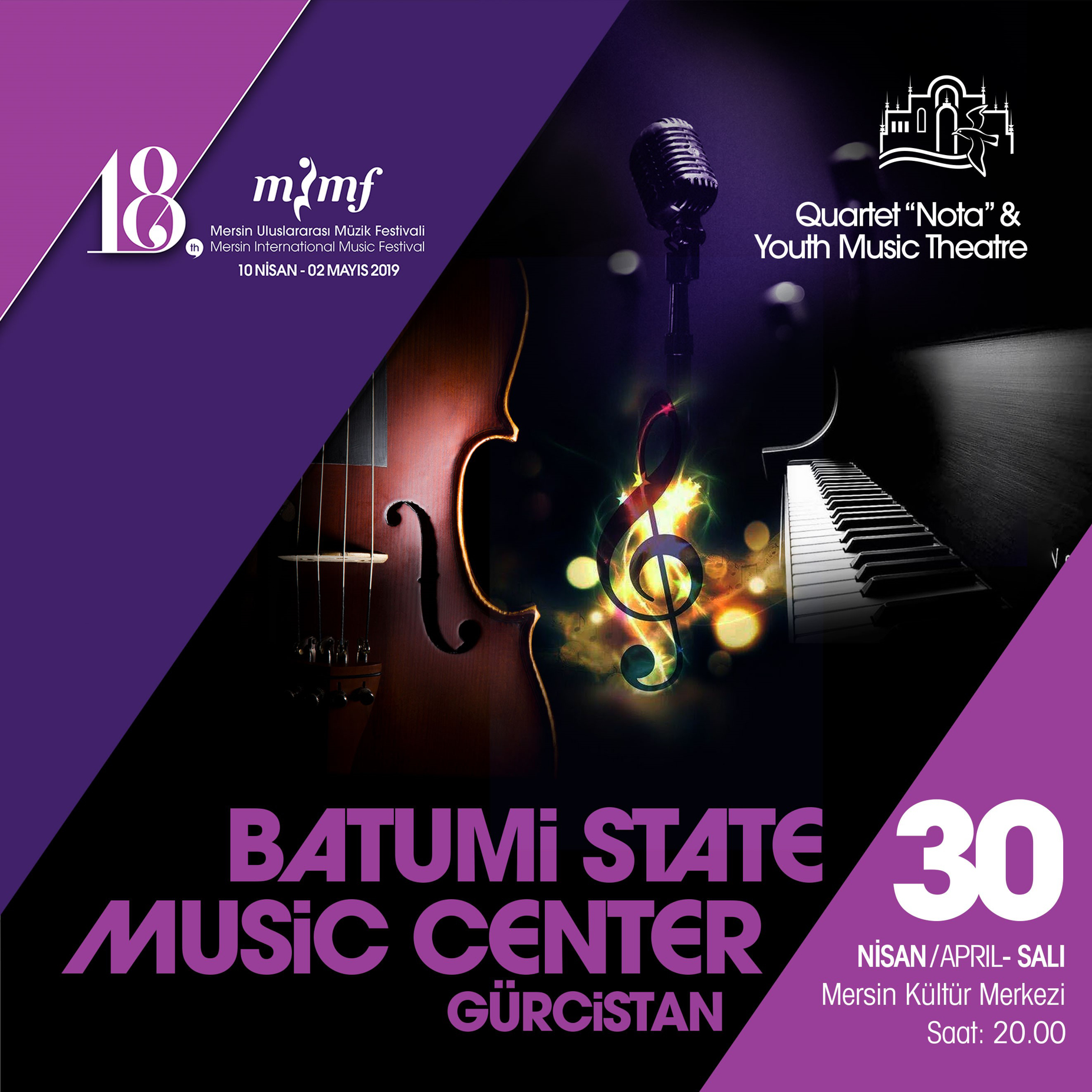Batumi State Music Centre Gürcistan Youth Music Theatre & Quartet Nota