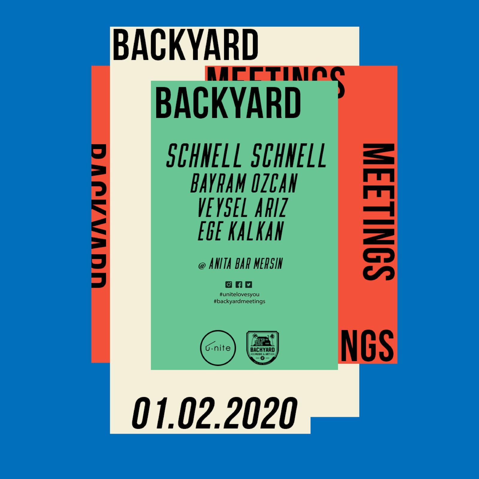 u.nite presents : backyard meetings