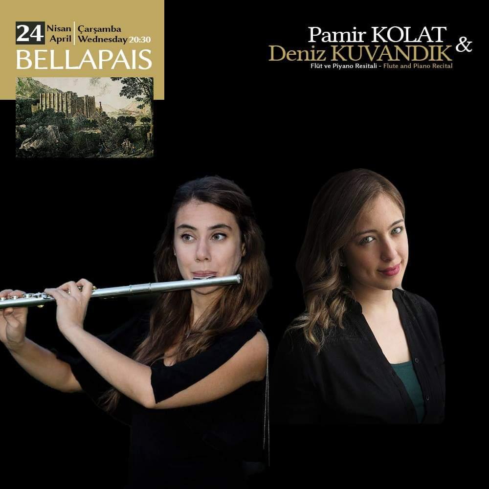 Pamir KOLAT & Deniz KUVANDIK      Flüt – Piyano Resitali