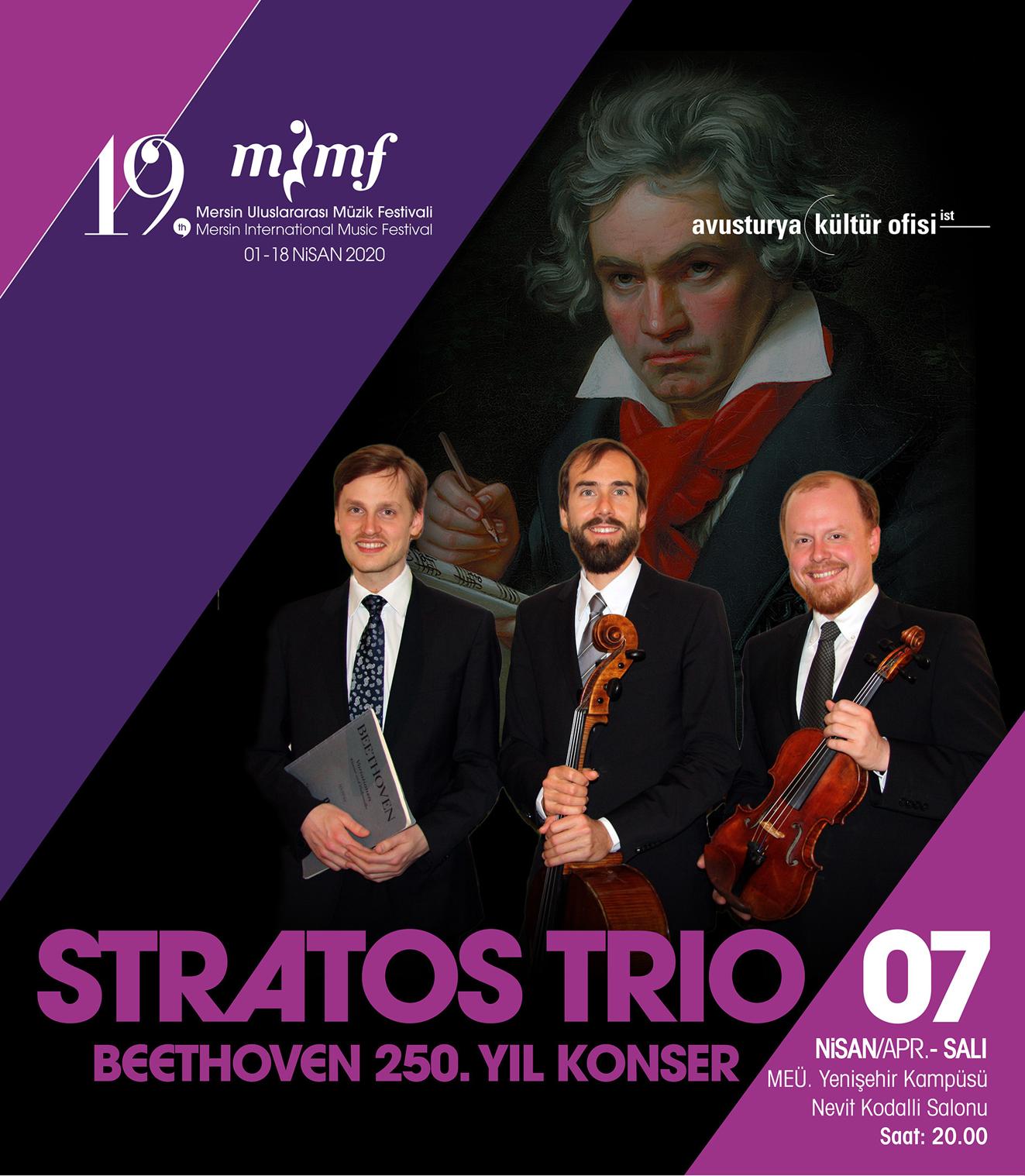 STRATOS TRIO Beethoven 250. Yılı Konseri