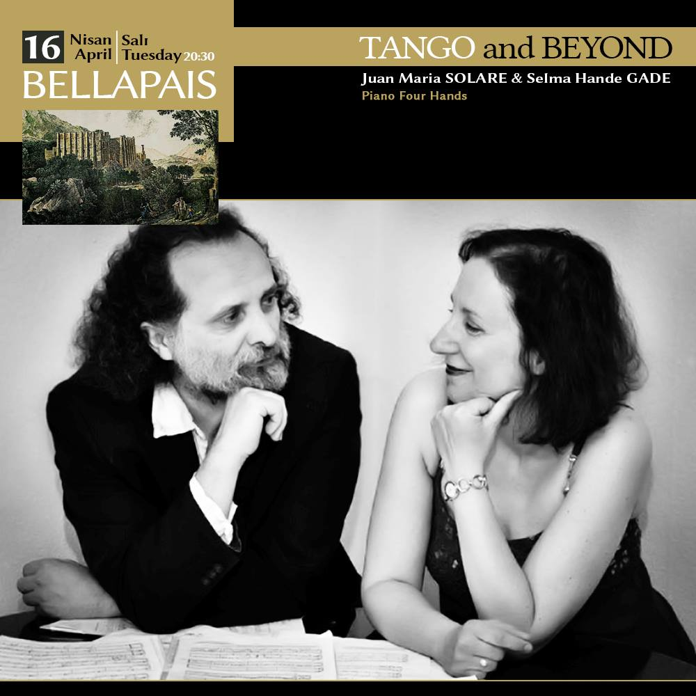 Tango and Beyond Juan Maria SOLARE & Selma Hande GADE Piano Four Hands